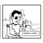 Unfed Artist - 3 Months